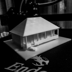 IMG_20200809_020246.jpg Download STL file Traditional log house • 3D printer model, supman