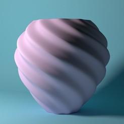 vaza.jpg Download STL file Twisted vase • 3D printable model, supman