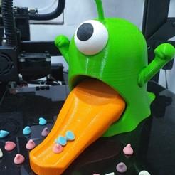 Télécharger fichier STL Distributeur de bonbons pour étrangers • Plan pour impression 3D, kamomena