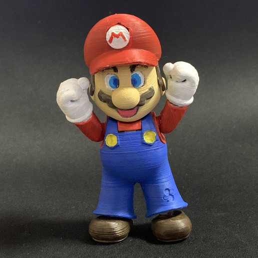 Download free STL file Super Mario complete set • 3D printer object, 86Duino