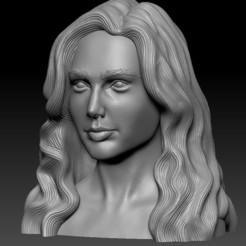 head190705.jpg Télécharger fichier STL Gal Gadot • Modèle à imprimer en 3D, cw50p