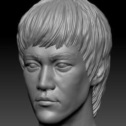 bruce.jpg Télécharger fichier STL Bruce Lee • Design à imprimer en 3D, cw50p