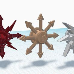 ID_spinners.JPG Download free STL file Train of Doom Spinners • 3D printable design, afroafrik