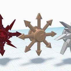 ID_spinners.JPG Descargar archivo STL gratis El tren de los Doom Spinners • Modelo imprimible en 3D, afroafrik