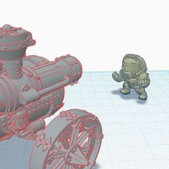 Doomtrain.JPG Download free STL file Disorganized Dwarfs Train of Doom • 3D printer object, afroafrik