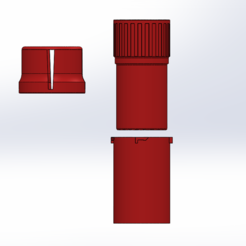 grinder.png Download STL file 2 cups 1 grinder • 3D print design, ELDI-3D