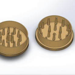 Screenshot (36).png Download free STL file Grinder Premium • 3D printing model, ELDI-3D