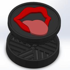 Screenshot (62).png Download STL file GRINDER LIPS !!! • 3D printable object, ELDI-3D