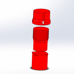 Screenshot (37).png Download STL file Mini 2 cups 1 grinder • Template to 3D print, ELDI-3D