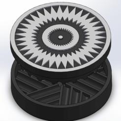 Screenshot (66).png Download STL file grinder Triangular dizziness • 3D print object, ELDI-3D