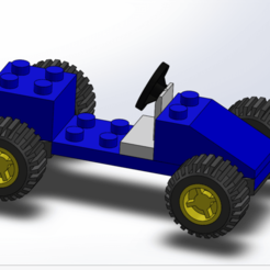 Screenshot (38).png Download free STL file Lego car • 3D printable template, ELDI-3D