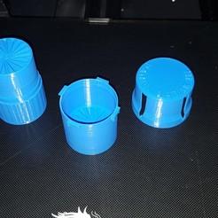 Download STL file 2 cups 1 grinder • 3D print design, ELDI-3D