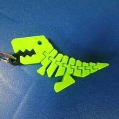 DSC_1921.JPG Télécharger fichier STL gratuit Porte-clés pour le Flexi Rex • Modèle à imprimer en 3D, hsiehty