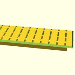 reinforced__rectangle_cover.png Télécharger fichier SCAD gratuit Plaque de recouvrement renforcée pour les trous rectangulaires • Modèle pour impression 3D, hsiehty