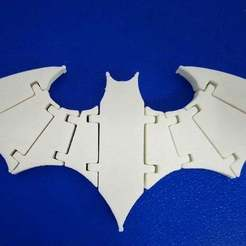 DSC_3404.JPG Download free STL file Another articulated Batarang • 3D print object, hsiehty