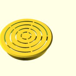 a_sink_3_reinforced.png Télécharger fichier SCAD gratuit Un filtre d'évier renforcé • Modèle pour imprimante 3D, hsiehty