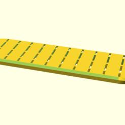Reinforced_cover_plate.png Télécharger fichier SCAD gratuit Plaque de couverture renforcée pour trou d'homme : longueur L et largeur W • Objet à imprimer en 3D, hsiehty