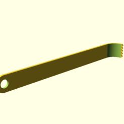 rake3.png Télécharger fichier SCAD gratuit râteau3 • Plan pour imprimante 3D, hsiehty