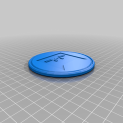 calicat_coaster.png Download free STL file Calicat coaster • Template to 3D print, hsiehty