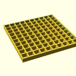 A_square_holder_TOP_BOT.png Download free SCAD file A square holder 2 • 3D printer design, hsiehty