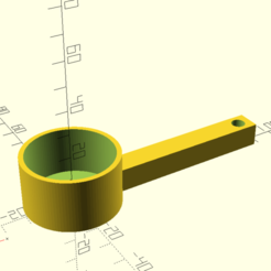a_scoop1.png Download free SCAD file A scoop • 3D print design, hsiehty