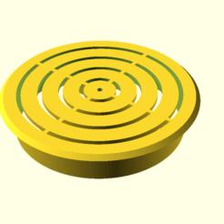a_sink_reinforced_1.png Télécharger fichier SCAD gratuit Un filtre d'évier renforcé 1 • Modèle imprimable en 3D, hsiehty