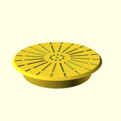 a_sink_1.png Télécharger fichier SCAD gratuit Un filtre d'évier 1 • Design à imprimer en 3D, hsiehty