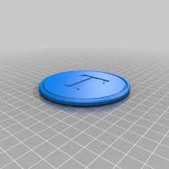 T_coaster.png Download free STL file Thingiverse coaster • 3D print design, hsiehty