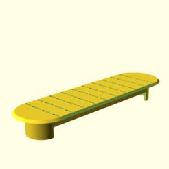 Reinforced_cover_plate_1b.png Télécharger fichier SCAD gratuit Plaque de couverture renforcée 1 • Design imprimable en 3D, hsiehty