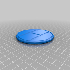 H_coaster.png Download free STL file H coaster • 3D printing object, hsiehty
