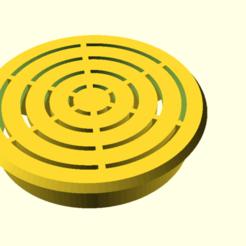 a_sink_3.png Télécharger fichier SCAD gratuit Un filtre d'évier 3 • Plan pour imprimante 3D, hsiehty