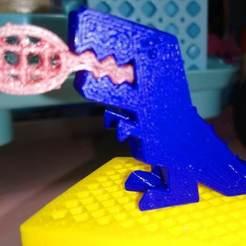 DSC_2065_1.JPG Télécharger fichier STL gratuit Chaîne de clés pour Robber Rex • Plan pour impression 3D, hsiehty