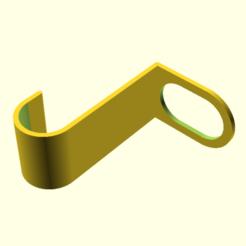 u_hook2.png Télécharger fichier SCAD gratuit u crochet 2 • Objet à imprimer en 3D, hsiehty