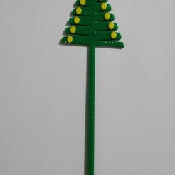 pino.jpg Download STL file Topper Christmas Tree • 3D print model, petroliever
