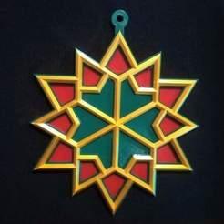 WhatsApp Image 2020-11-20 at 11.40.08 PM.jpeg Download STL file Christmas Star Ornament • 3D printing template, nponceg