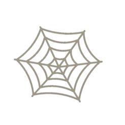 Lazy Spider Web Coaster v3.png Télécharger fichier STL Spider's Web Coaster • Modèle pour impression 3D, digitaldipdesign