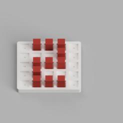 2 Angled.PNG Télécharger fichier STL Grille de numérotation/ Tableau de notation • Design imprimable en 3D, digitaldipdesign