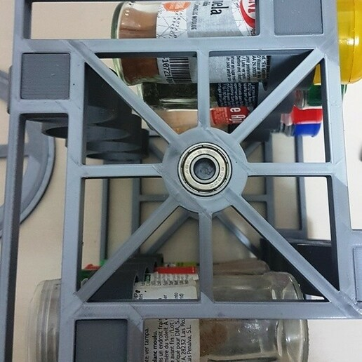 20201229_193956.jpg Download STL file Spice rack rotary spice rack • 3D printing design, Richars