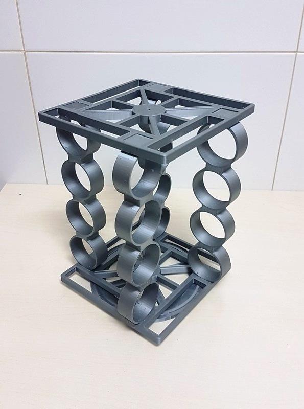 20201229_193537.jpg Download STL file Spice rack rotary spice rack • 3D printing design, Richars