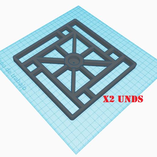 Base especiero.png Download STL file Spice rack rotary spice rack • 3D printing design, Richars