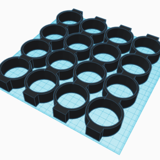 distribucionX4.png Download STL file Spice rack rotary spice rack • 3D printing design, Richars