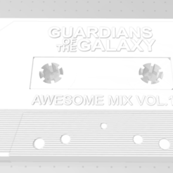 1.PNG Download STL file Groot cassette • 3D print object, melodiebourgeois