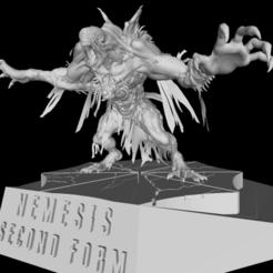 01.1.png Télécharger fichier STL Residual Evil 3 Remake - Nemesis Second Form • Modèle imprimable en 3D, franciscobpk