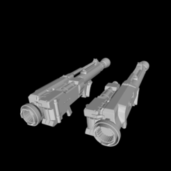 01.png Download free STL file Nemesis Remake Weapon Pack • 3D printable object, franciscobpk