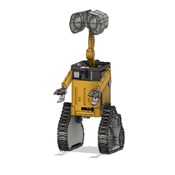 Wall-e_v1.png Download free STL file Wall-e • 3D printer design, Vinos88