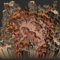 Meseta del Desierto.PNG Télécharger fichier OBJ Biome : Plateau désertique • Design pour impression 3D, Autumn_Worlds
