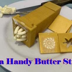 thumb.jpg Download free STL file Handy Butter Stick • Model to 3D print, zhhwang