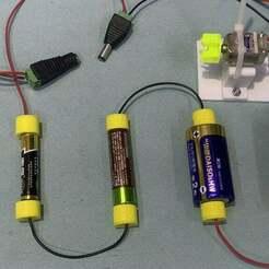 thumb.jpg Download free STL file Universal battery connector • 3D printer template, zhhwang