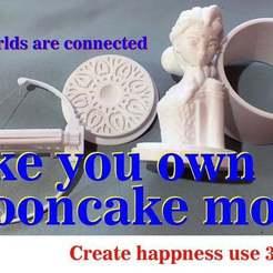 thumb-thing.jpg Télécharger fichier STL gratuit mooncake • Objet pour imprimante 3D, zhhwang