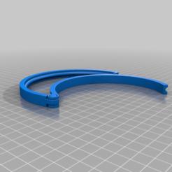 simple.png Download free STL file Round Shape Bag Clip, Moon Shape Clip, Twin Bag Clip • 3D print design, zhhwang